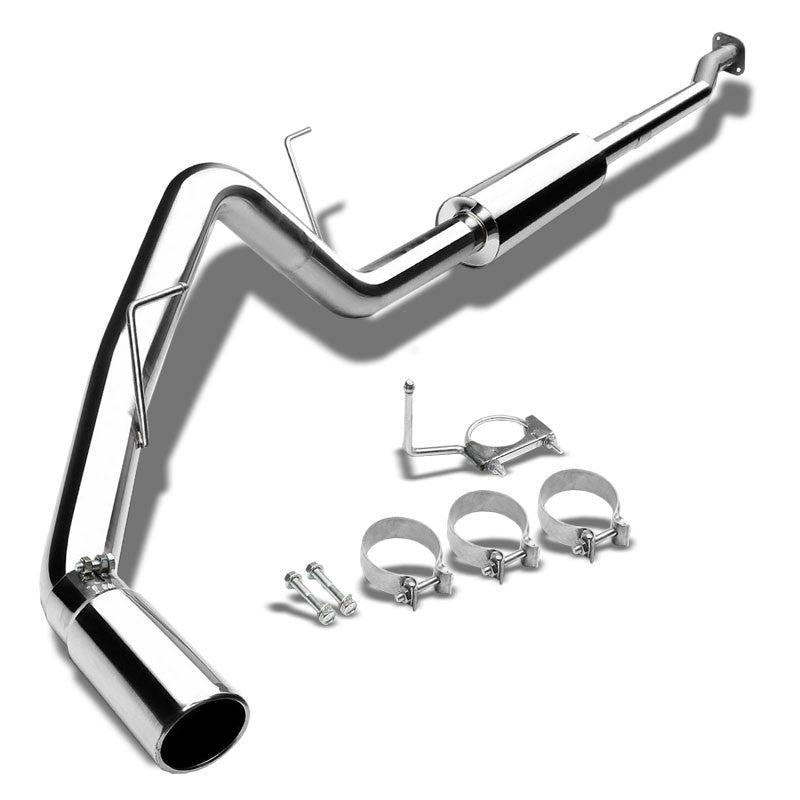 "3"" Roll Muffler Tip Exhaust Catback System For 97-03 Ford F-150 4.6L/5.4L SOHC-Performance-BuildFastCar"