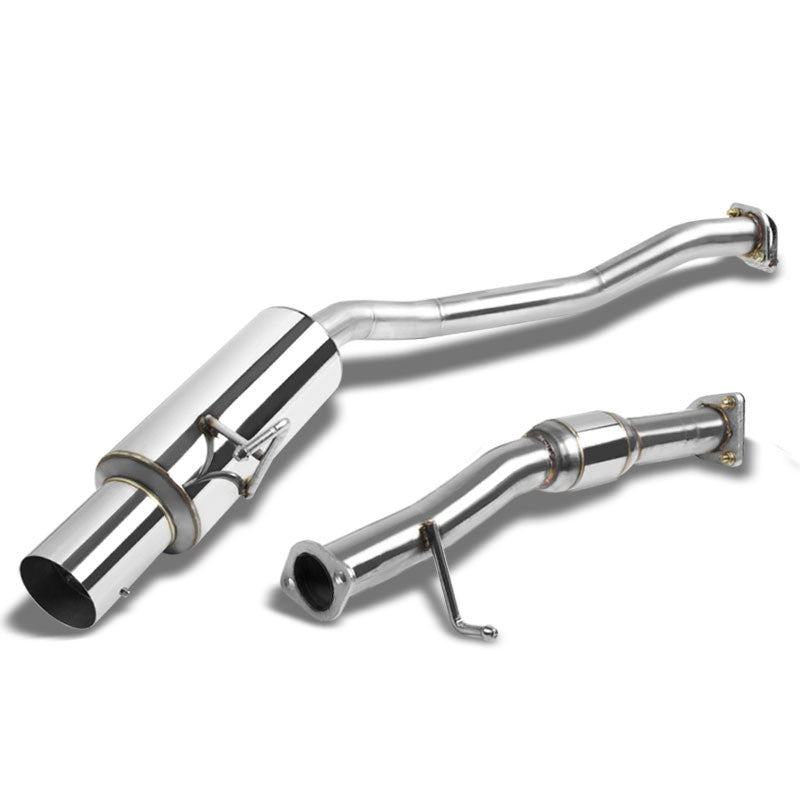 "4"" Muffler Tip Exhaust Catback System For 00-03 Honda S2000 AP1 FC Base 2.0L-Performance-BuildFastCar"