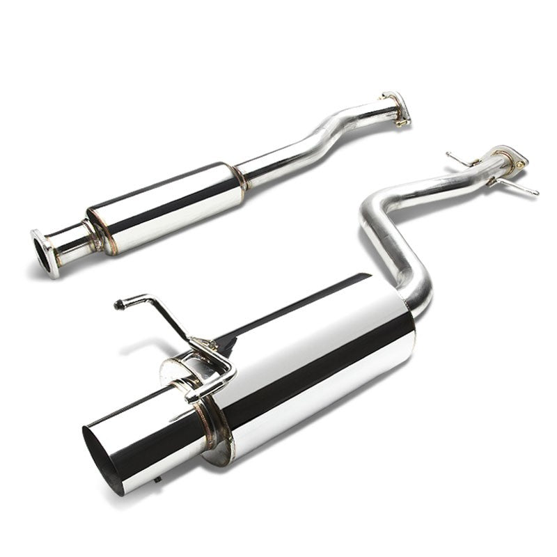 "4"" Muffler Tip Exhaust Catback System For 01-05 Lexus IS300 Altezza XE10 3.0L-Performance-BuildFastCar"