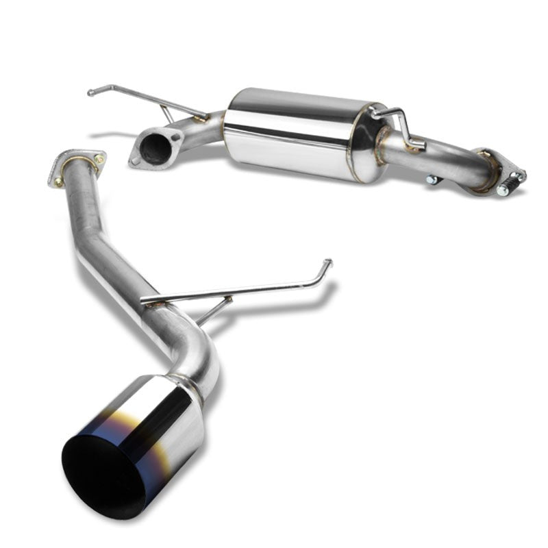 "4.5"" Burnt Muffler Tip Exhaust Catback System For 00-05 Celica GT/GTS 1.8L DOHC-Performance-BuildFastCar"