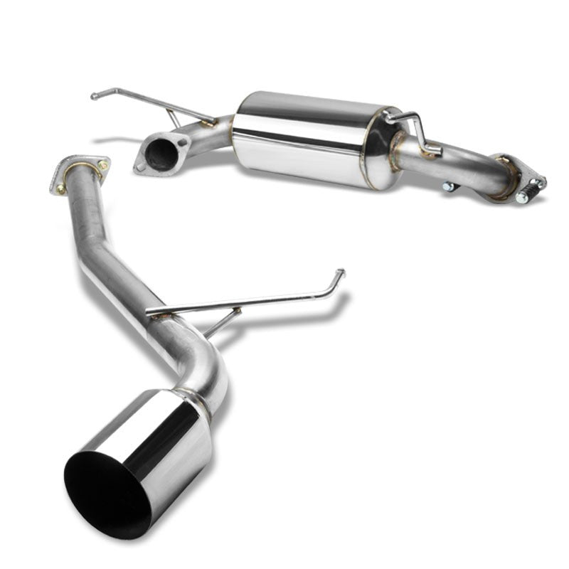 "4.5"" Round Muffler Tip Exhaust Catback System For 00-05 Celica GT/GTS 1.8L DOHC-Performance-BuildFastCar"