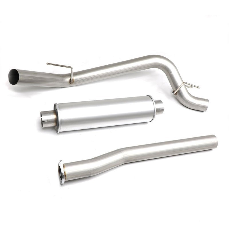 Exhaust Catback System (Stainless Steel) For 16-17 Toyota Tacoma 3.5L V6 DOHC-Performance-BuildFastCar