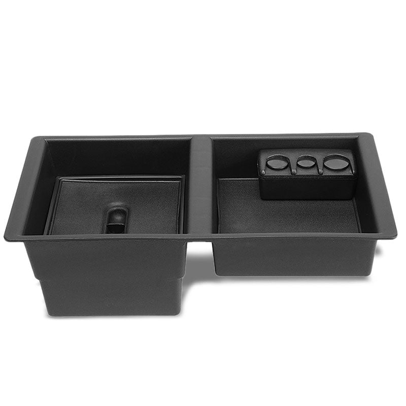 Black Center Console Organizer Coin Tray Lid For 15-18 Silverado/Suburban/Tahoe-Interior-BuildFastCar