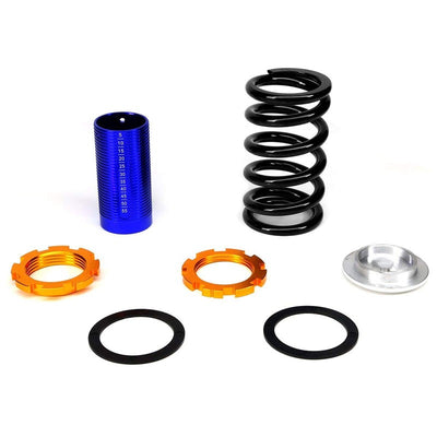 Adjustable Black Scaled Coilover+Red Gas Shock Absorbers TY22 For 94-01 Integra-Shocks & Springs-BuildFastCar