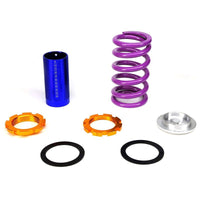 "Black/Purple Scaled 1""-4"" Adjust Lowering Coilover Spring TY22 For 90-01 Integra-Suspension-BuildFastCar"