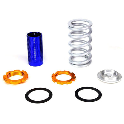 Adjust Silver Scaled Coilover+Silver Gas Shock Absorbers TY22 For 88-91 Civic-Shocks & Springs-BuildFastCar