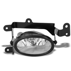 OE Style Front Right Side Fog Light Lamp Chrome/Clear For 01-03 Honda Civic 1.7L