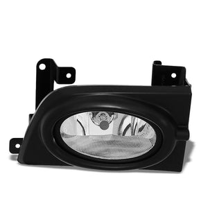 OE Style Front Right Side Fog Light Lamp+Bezel Chrome/Clear For 06-08 Civic 4Dr-Lighting-BuildFastCar-BFC-FOLK-HON06CIV4D-R
