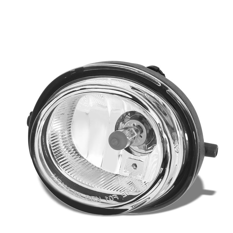 OE Style Front Left Side Fog Light Lamp Chrome/Clear For 13-14 Mazda CX-9-Lighting-BuildFastCar-BFC-FOLK-MAZ07CX7-L