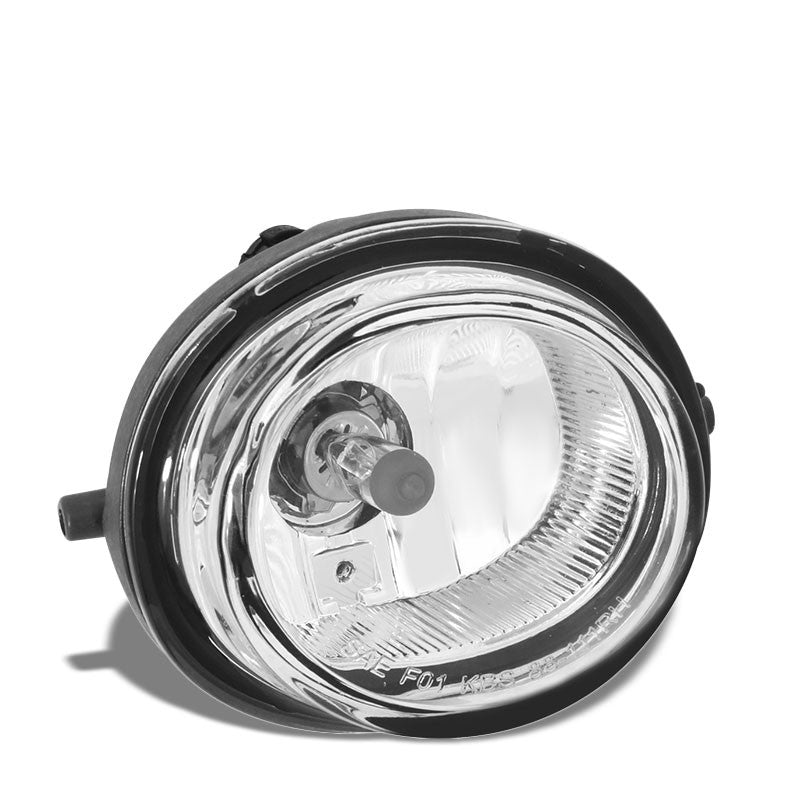 OE Style Front Right Side Fog Light Lamp Chrome/Clear For 07-09 Mazda CX-7-Lighting-BuildFastCar-BFC-FOLK-MAZ07CX7-R