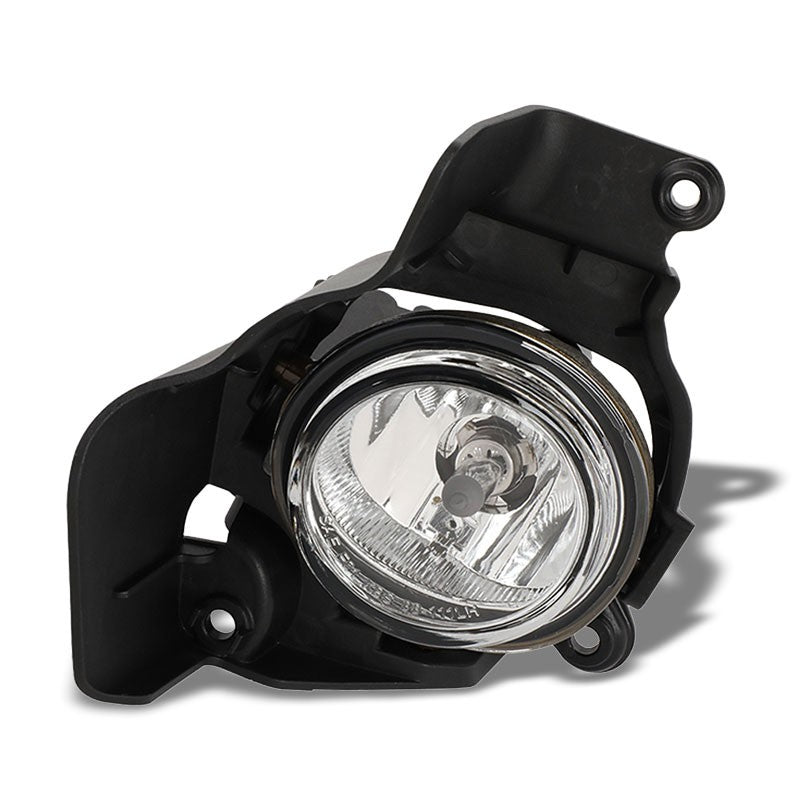 OE Style Front Left Side Fog Light Lamp Chrome/Clear For 11-14 Mazda 2 1.5L DOHC