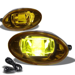 Amber Lens LED Front Bumper Fog Light Lamp+Switch For 09-13 Civic/08-11 Accord-Exterior-BuildFastCar