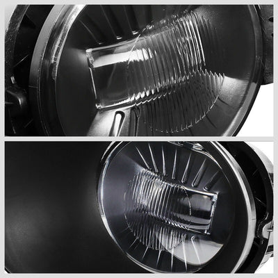 OE Style Front LED Fog Light Lamp+Bezel/Switch Chrome/Clear For 03-09 Ram 2500-Lighting-BuildFastCar-BFC-FOLK-RAM0208-CH