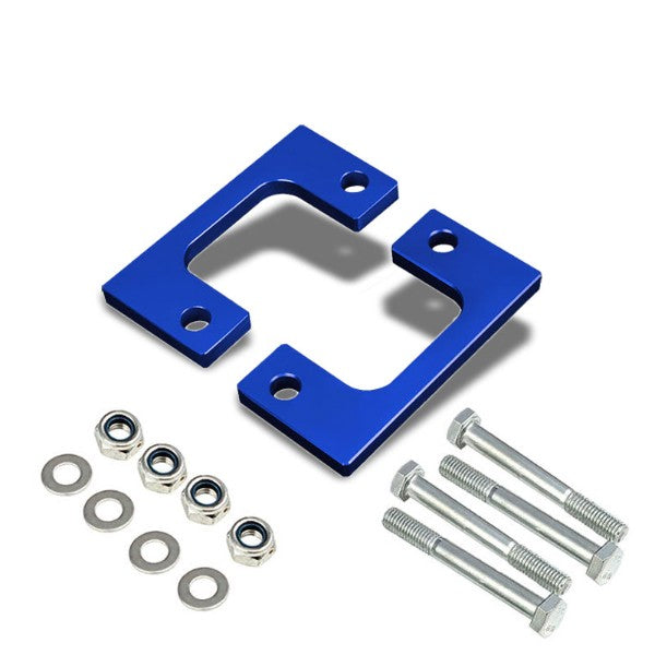 "1/2"" Front Blue Low Mount Leveling Lift Kit Spacer For 07-17 Silverado 1500-Suspension-BuildFastCar"