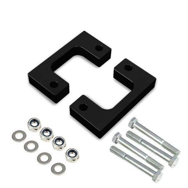 "1.5"" Front Black Low Mount Leveling Lift Kit Spacer For 07-17 Silverado 1500-Suspension-BuildFastCar"