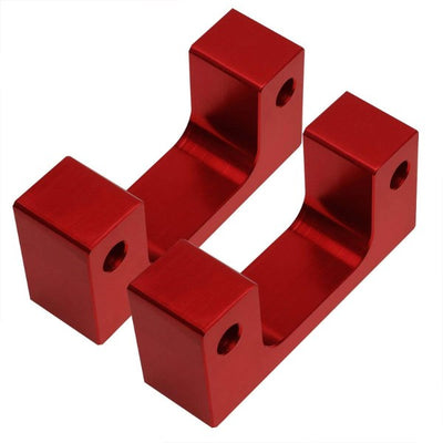 "2.5"" Front Red Low Mount Leveling Lift Kit Spacer For 07-17 Silverado 1500-Suspension-BuildFastCar"