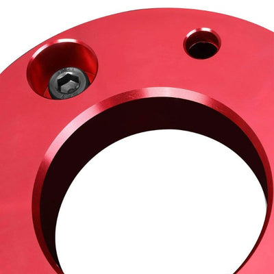 "2"" Front Red High Mount Leveling Lift Kit Spacer For 07-17 Silverado 1500-Suspension-BuildFastCar"