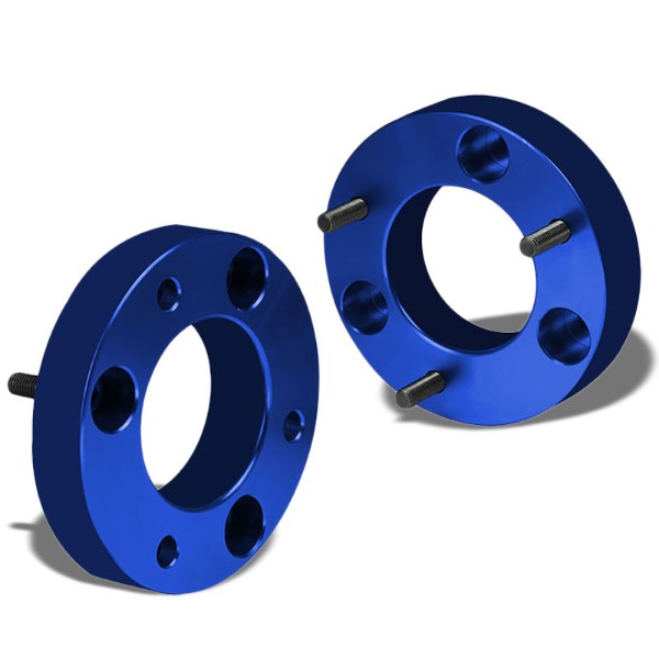 "1.5"" Front Blue Strut Top Mount Leveling Lift Kit Spacer For 04-17 Ford F-150-Suspension-BuildFastCar"