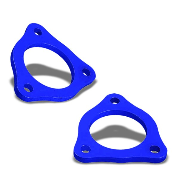 "1/2"" Front Blue Strut Top Mount Leveling Lift Kit Spacer For 04-17 Ford F-150-Suspension-BuildFastCar"