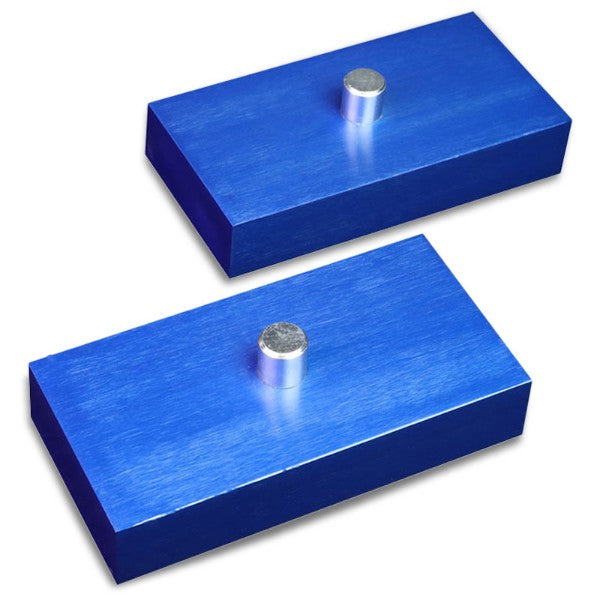 "1"" Rear Blue Leaf Spring Mount Leveling Lift Kit Block For 99-18 F-250/F-350-Suspension-BuildFastCar"