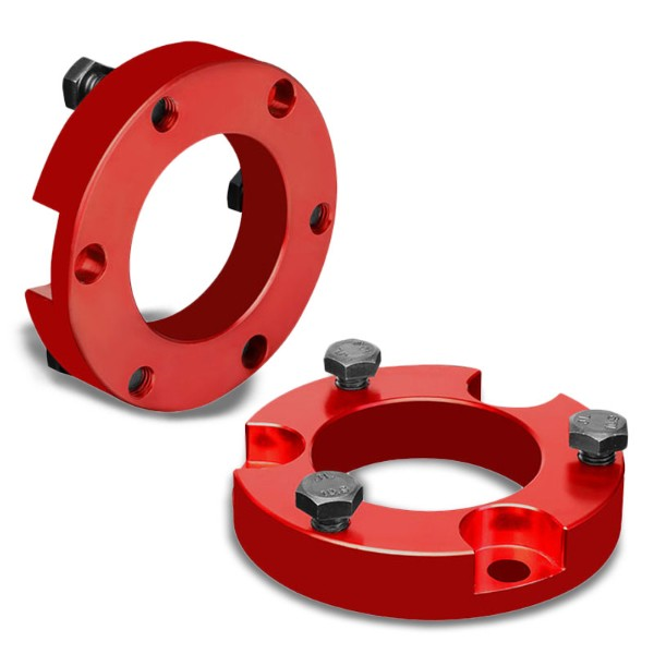"2"" Front Red Strut Top Mount Leveling Lift Kit Spacer For 05-18 Toyota Tacoma-Suspension-BuildFastCar"