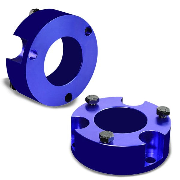 "3"" Front Blue Strut Top Mount Leveling Lift Kit Spacer For 05-18 Toyota Tacoma-Suspension-BuildFastCar"