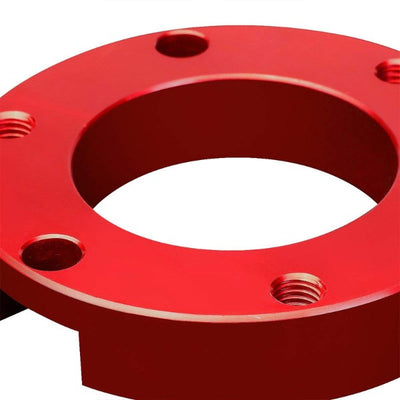 "3"" Front Red Strut Top Mount Leveling Lift Kit Spacer For 05-18 Toyota Tacoma-Suspension-BuildFastCar"