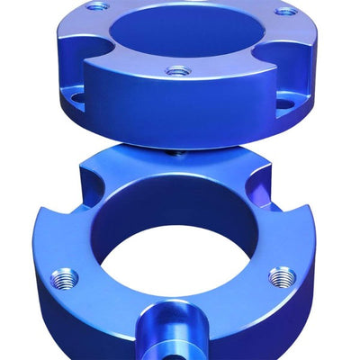 "2"" Front Blue Strut Top Mount Leveling Lift Kit Spacer For 00-06 Toyota Tundra-Suspension-BuildFastCar"