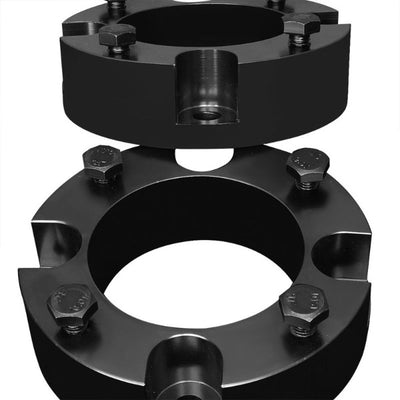 "2"" Front Black Strut Top Mount Leveling Lift Kit Spacer For 07-18 Toyota Tundra-Suspension-BuildFastCar"