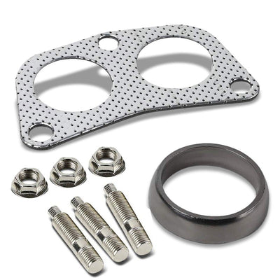 BFC Aluminum Graphite Exhaust Gasket Replacement For Nissan Downpipe Flange-Exhaust Systems-BuildFastCar-BFC-12-1003