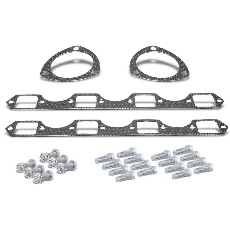 BFC Aluminum Graphite Exhaust Gasket Replacement For 68-79 Cadillac DeVille-Exhaust Systems-BuildFastCar-BFC-12-1012