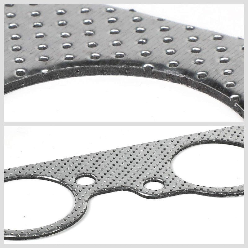BFC Aluminum Graphite Exhaust Gasket For 73-95 Chevrolet Big Block BBC Engine-Exhaust Systems-BuildFastCar-BFC-12-1011