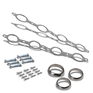 BFC Aluminum Graphite Exhaust Gasket For 04-13 Silverado 1500/Suburban 1500-Exhaust Systems-BuildFastCar-BFC-12-1017