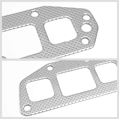 BFC Aluminum Graphite Exhaust Gasket Replacement For 05-08 Dodge Magnum 5.7L V8-Exhaust Systems-BuildFastCar-BFC-12-1028
