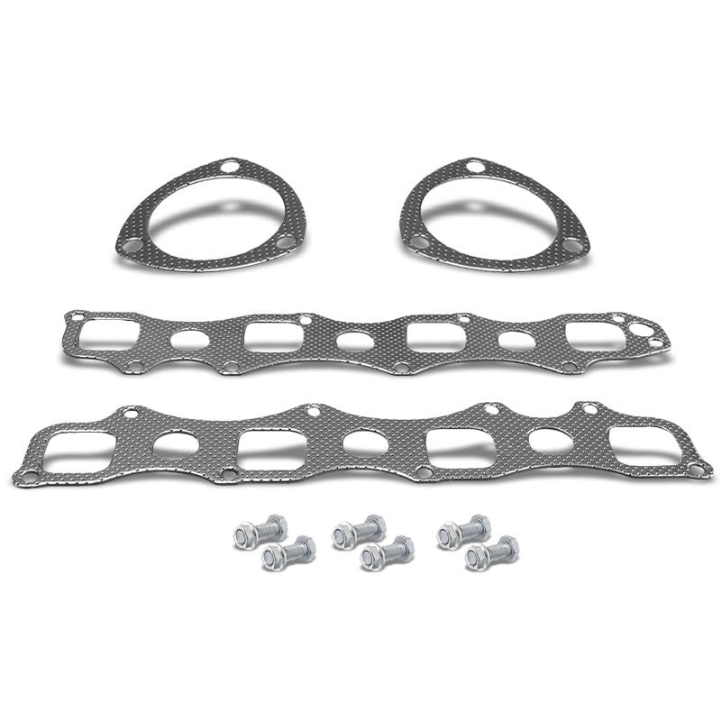 BFC Aluminum Graphite Exhaust Gasket Replacement For 03-07 Ram 1500 5.7L V8 2WD-Exhaust Systems-BuildFastCar-BFC-12-1031