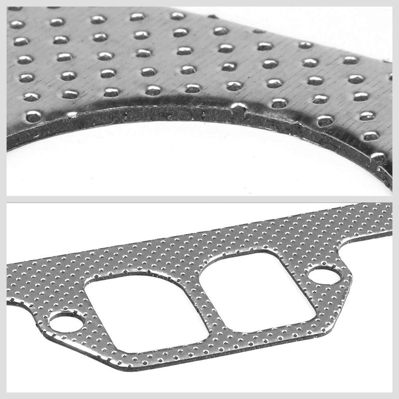 BFC Aluminum Graphite Exhaust Gasket Replacement For 75-80 Dodge D200 5.2L/5.9L-Exhaust Systems-BuildFastCar-BFC-12-1032