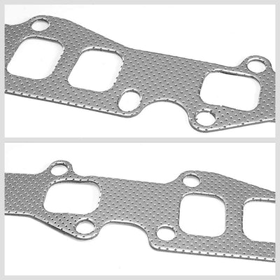 BFC Aluminum Graphite Exhaust Gasket Replacement For 78-83 Ford Fairmont 3.3L-Exhaust Systems-BuildFastCar-BFC-12-1047
