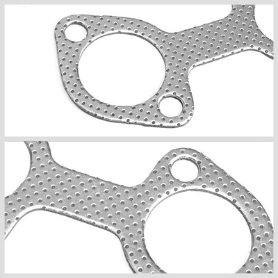 BFC Aluminum Graphite Exhaust Gasket For 96-04 Ford Mustang GT SN-95 V8 4.6L-Exhaust Systems-BuildFastCar-BFC-12-1055