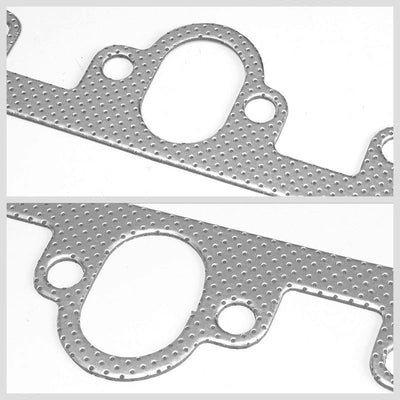 BFC Aluminum Graphite Exhaust Gasket Replacement For 57-72 Ford F-100 Base 2WD-Exhaust Systems-BuildFastCar-BFC-12-1057
