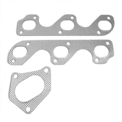 BFC Aluminum Graphite Exhaust Gasket Replacement For 90-94 Ford Ranger 3.0L/4.0L-Exhaust Systems-BuildFastCar-BFC-12-1058