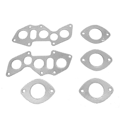 BFC Aluminum Graphite Exhaust Gasket Replacement For 06-13 Lexus IS250 2.5L DOHC-Exhaust Systems-BuildFastCar-BFC-12-1077