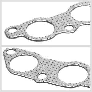BFC Aluminum Graphite Exhaust Gasket Replacement For 01-05 Lexus IS300 XE10 3.0L-Exhaust Systems-BuildFastCar-BFC-12-1078