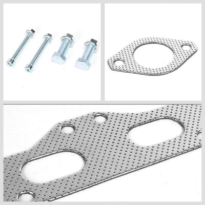 BFC Aluminum Graphite Exhaust Gasket Replacement For 95-99 Mitsubishi Eclipse-Exhaust Systems-BuildFastCar-BFC-12-1087
