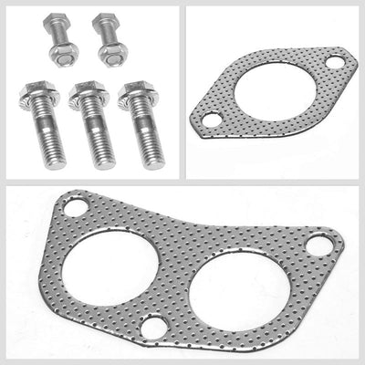 BFC Aluminum Graphite Exhaust Gasket Replacement For 02-07 Mitsubishi Lancer-Exhaust Systems-BuildFastCar-BFC-12-1088