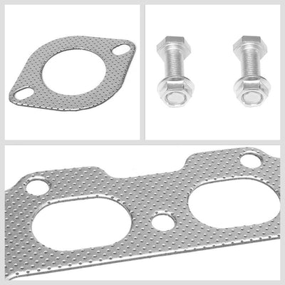 BFC Aluminum Graphite Exhaust Gasket Replacement For 94-97 Mazda Miata MX-5 NA-Exhaust Systems-BuildFastCar-BFC-12-1090