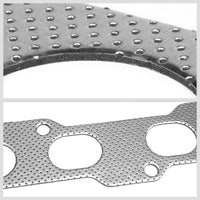 BFC Aluminum Graphite Exhaust Gasket Replacement For 02-06 Nissan Sentra SE-R-Exhaust Systems-BuildFastCar-BFC-12-1101