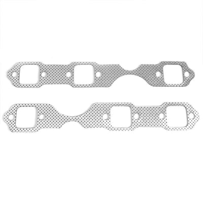 BFC Aluminum Graphite Exhaust Gasket Replacement For 97-00 Chevrolet Blazer 4.3L-Exhaust Systems-BuildFastCar-BFC-12-1110