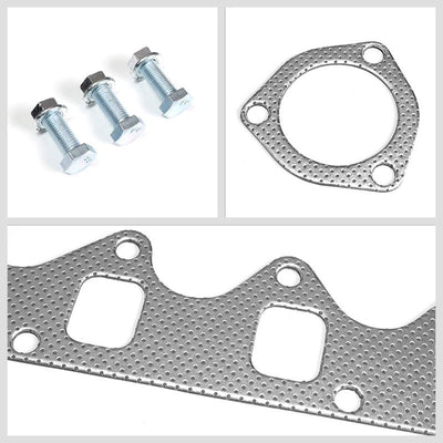 BFC Aluminum Graphite Exhaust Gasket Replacement For 85-95 Suzuki Samurai 1.3L-Exhaust Systems-BuildFastCar-BFC-12-1116