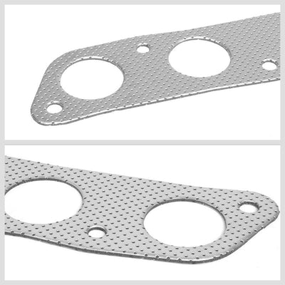 BFC Aluminum Graphite Exhaust Gasket Replacement For 09-13 Toyota Corolla 1.8L-Exhaust Systems-BuildFastCar-BFC-12-1121