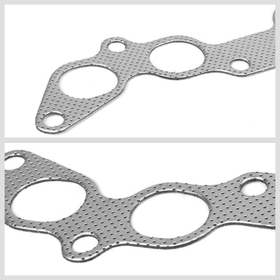BFC Aluminum Graphite Exhaust Gasket Replacement For 90-99 Toyota Celica GT 2.2L-Exhaust Systems-BuildFastCar-BFC-12-1124